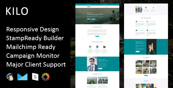 Plus - Multipurpose Responsive Email Template with Stampready Builder - 5
