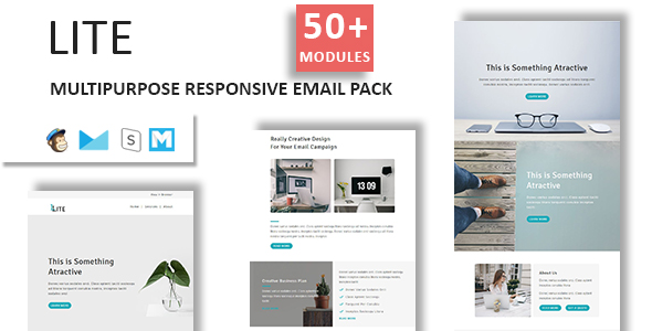 Emaily - Multipurpose Responsive Email Template With Online StampReady Builder Access - 2