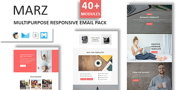 Plus - Multipurpose Responsive Email Template with Stampready Builder - 2