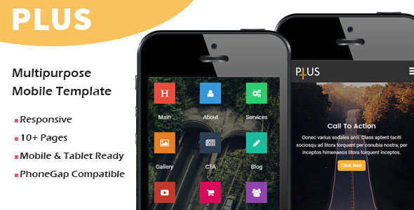 ACID - Multipurpose Responsive Mobile Template - 1