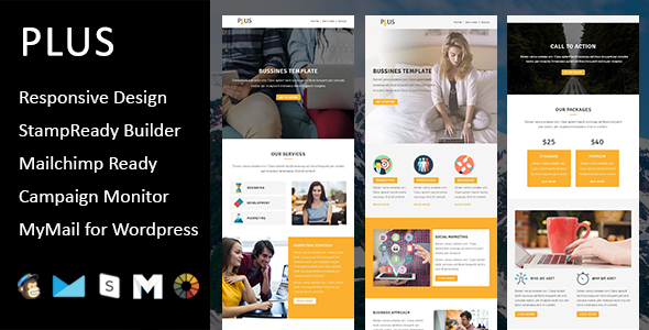 Emaily - Multipurpose Responsive Email Template With Online StampReady Builder Access - 4