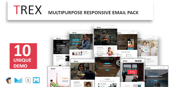 Emaily - Multipurpose Responsive Email Template With Online StampReady Builder Access - 1