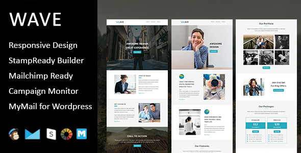 E-Shop - Ecommerce Responsive Email Template with Stampready Builder Access - 1
