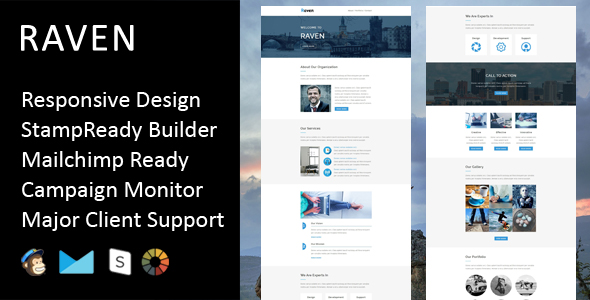 Race - Multipurpose Responsive Email Template With Stamp Ready Builder Access - 5